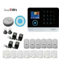 SmartYIBA     systeme dalarme de securite domestique intelligent  wi-fi  3G  voix italienne  espagnole  russe  controle via application Android et IOS