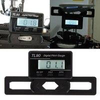 Hot Sale TL90 Digital Pitch Gauge LCD Backlight Display Blades Angle Measurement Tool