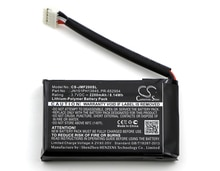 Cameron Sino 2200mAh batterie PR-652954 pour JBL retournement 2 (2014), retournement II, veuillez vérifier que le connecteur est 3 fils ou 5 fils