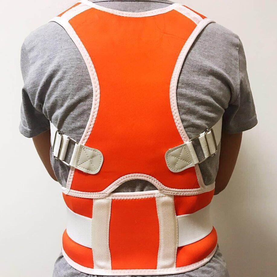 Corrector De postura magnética ajustable corsé Espalda Brace cinturón Lumbar soporte recto Corrector De Espalda hembra macho S-XXL
