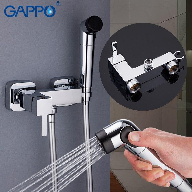 Gappo bidês bidé torneira do chuveiro bidé pulverizador muçulmano chuveiro montagem na parede ducha higienica