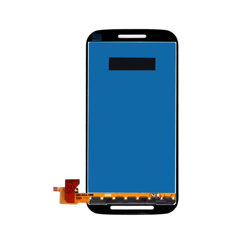 10 unids/lote para Motorola para Moto E XT1022 XT1021 XT1025 pantalla LCD con pantalla táctil digitalizador envío gratis por DHL /EMS/
