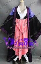 BLEACH Katen Kyokotsu Zanpakutou Spirit cosplay de kimono traje de uniforme de Halloween interior + abrigo + corsé hecho a medida