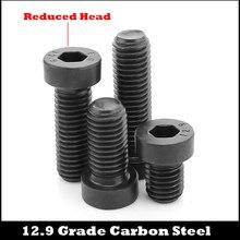 M16 M16*50/55/60 M16x50/55/60 12.9 Grade Black Alloy Steel DIN7984 Bolt Thin Reduced Cap Cup Allen Hex Hexagon Socket Head Screw