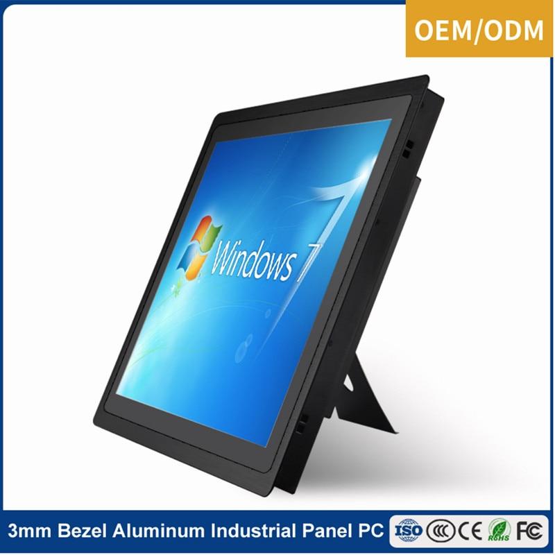 """Panel de pantalla táctil capacitivo negro de 12 """"15"""" 17 """"19"""" 21,5 pulgadas para máquina expendedora"""