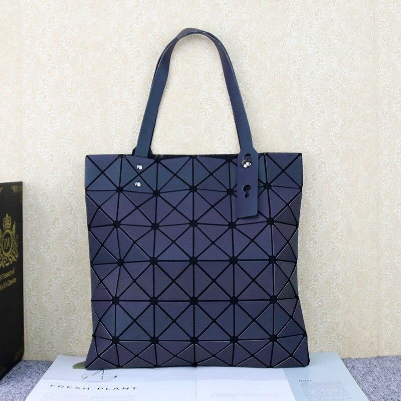 Bolso de mano grande con diamantes para mujer, bolso de hombro tipo bandolera de piel sintética para mujer, bolsos luminosos con asa superior para mujer