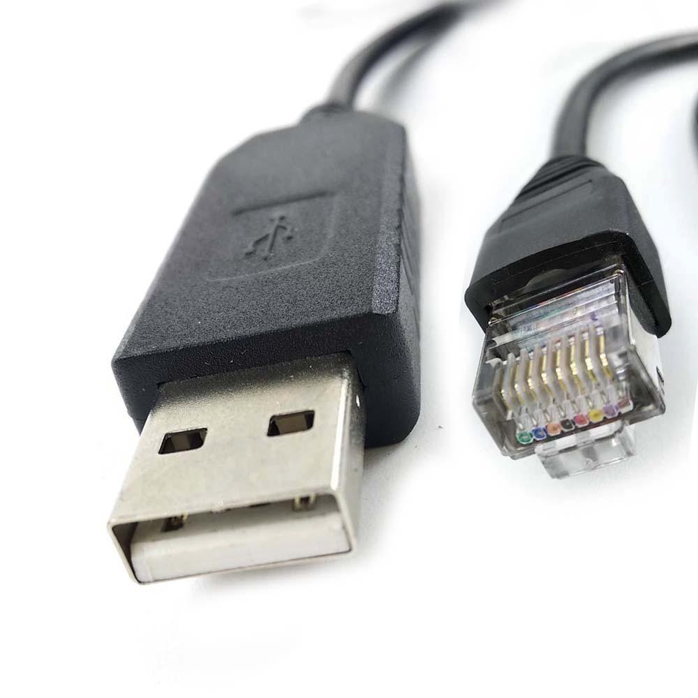 Кабель FTDI USB RS485 серии rj45 для последовательной связи Delta IFD6500