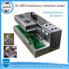 Livraison gratuite + 100% garantie prix usine continu aluminium feuille Induction scellant DL-300