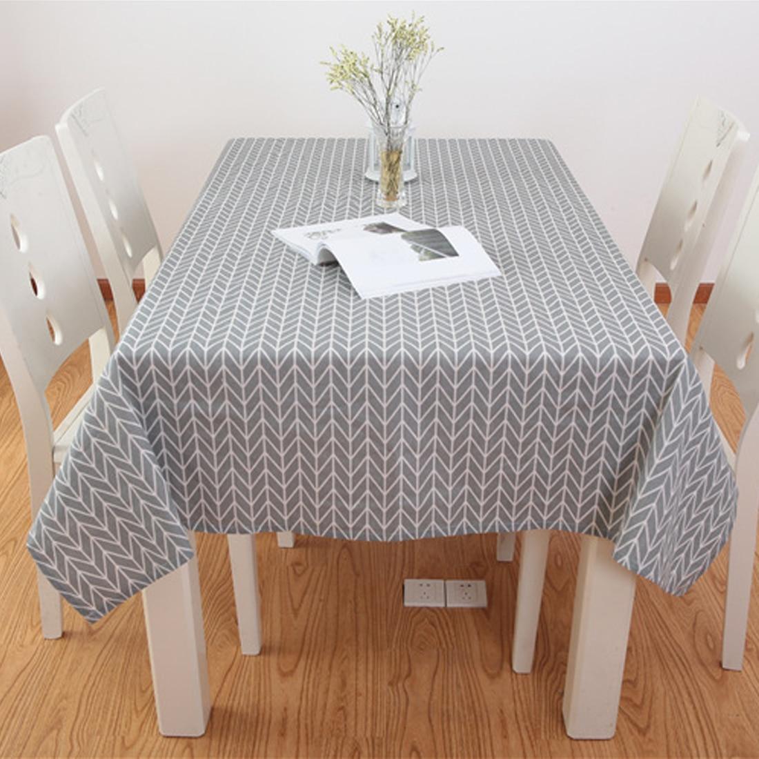 Mantel de tela cuadrada rectangular con impresión a cuadros estilo campestre de 6 tamaños mantel de tela decoración para el hogar y la cocina