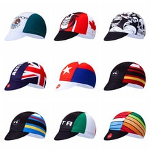Uk USA czapka rowerowa czapka kolarska kobiety mężczyźni bandana rowerowa czapki Ciclismo Sun UV kapelusz MTB Team Pro opaska nakrycia głowy czapka 2019 niebieski czerwony