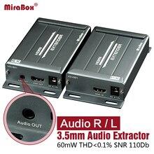 HSV891 extender HDMI sur tcp/ip avec extracteur Audio Extender HDMI Cat5 support 1080 p extender HDMI via Rj45 Extender HDMI Cat5