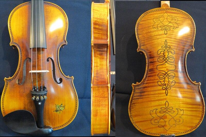"""Estilo Stradivarius SONG Brand Maestro 15 1/2 """"viola, gran sonido, tallado atrás #12062"""
