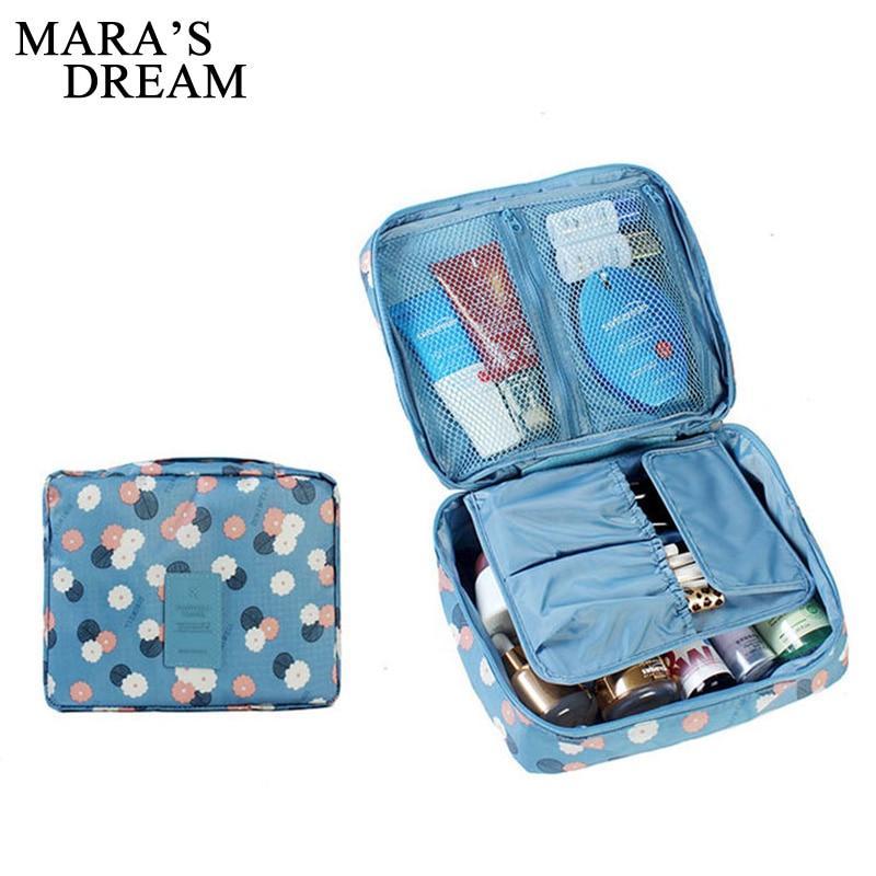 Bolso de maquillaje de ensueño de Mara, neceser para mujer, neceser de lavado, organizador de maquillaje, bolsa de viaje, estuche multifunción para bolso de mujer