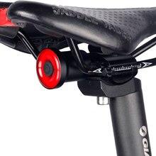 Enfitnix XLITE100 велосипедный задний светильник, умный светодиодный тормозной светильник, авто/ручной переключатель, 50 часов работы, безопасность...