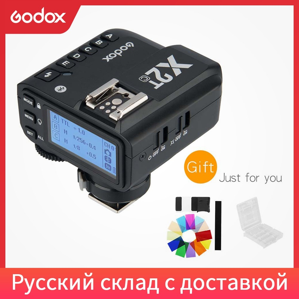 Godox X2T-N X2T-S X2T-C X2T-F X2T-O TTL 1/8000s HSS disparador de Flash inalámbrico transmisor para Nikon Sony Canon Fuji Olympus