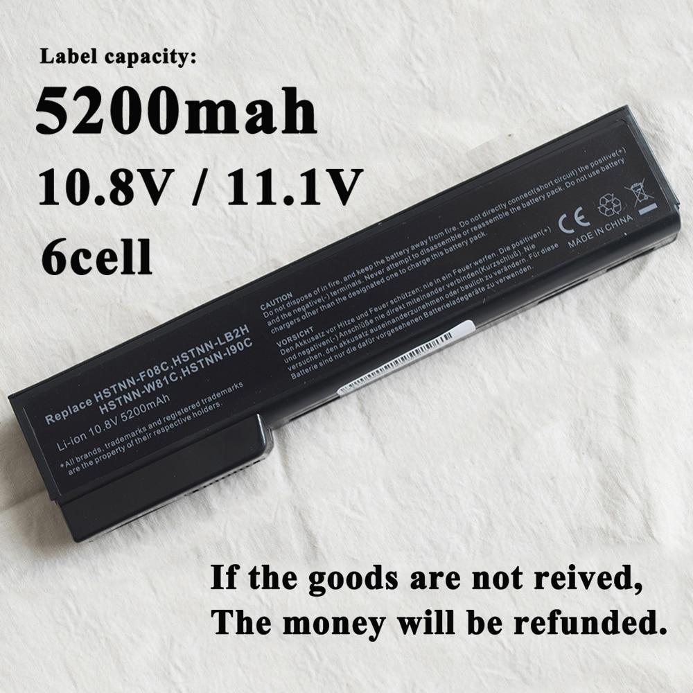 4400mAh Laptop Battery for HP EliteBook 8460p 8470p 8560p 8460w 8470w 8570p 8770p  battery 628668-001 628670-001  BB09  HSTNN-LB