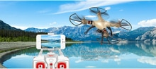 Drone WIFI FPV rc X8HW avec caméra 1MP 2.4 GHz 4CH 6 axes gyroscope RC quadrirotor sans tête Mode maintien daltitude Drone RTF jouet rc pour gif