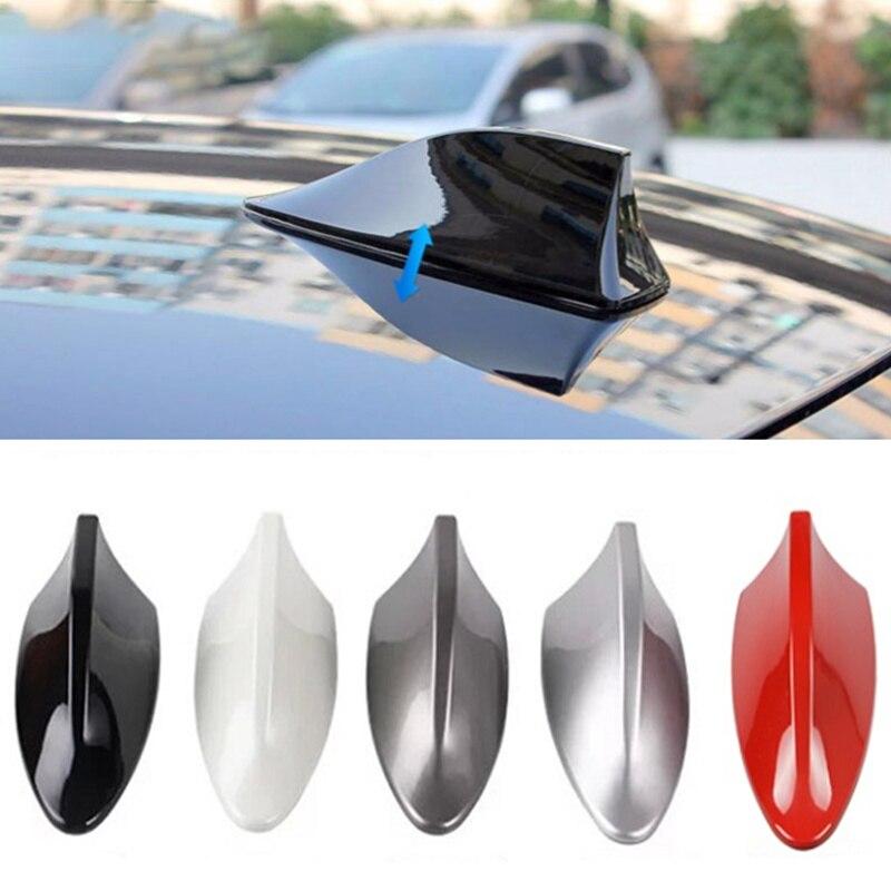 Techo de coche alerón con forma de aleta de tiburón coche señal de antena para ford focus 2 foco 3 fiesta mondeo 4 kuga s-max ranger Tuga 2016