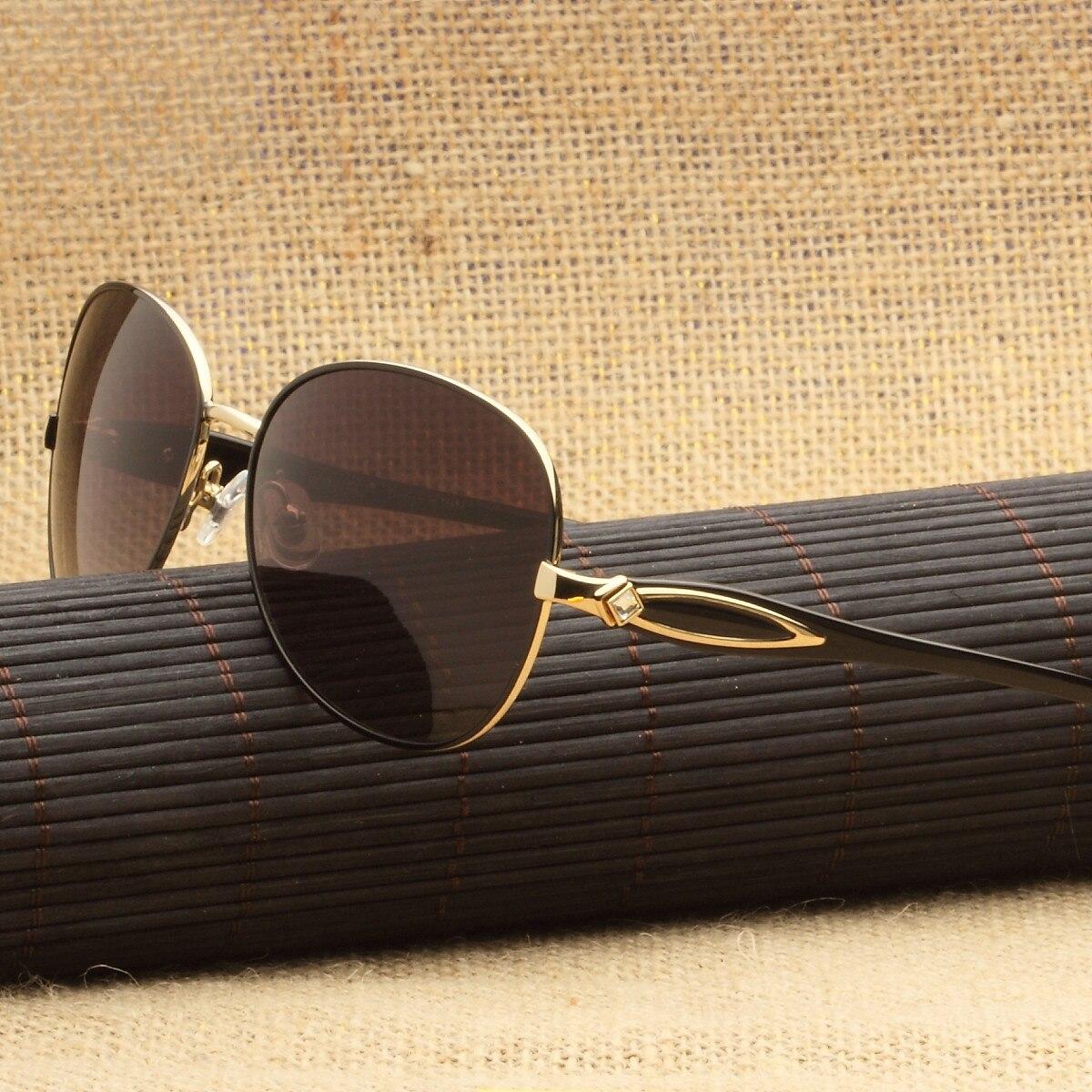 2019 gafas de sol Retro polarizadas para mujer gafas de sol de estilo Retro señoras gradiente Vintage sombras puntos