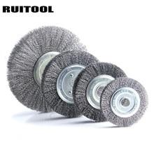 Roues de polissage de roue de fil dacier de RUITOOL 4