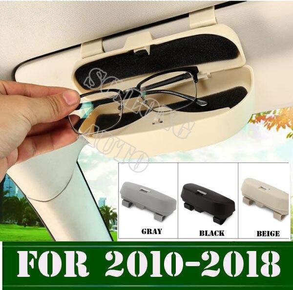 Caja de gafas de sol para coche sikali compatible con Toyota Corolla RAV4 Yaris Honda Civic Accord CRV Nissan Qashqai Juke x-trail Tiida