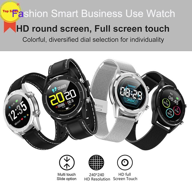 Esportes ao ar Monitor de Fitness Ip68 à Prova Relógios Inteligentes Água Livre Relógio Pressão Arterial Ecg Heart Rate Rastreador Bluetooth pk P68 d'