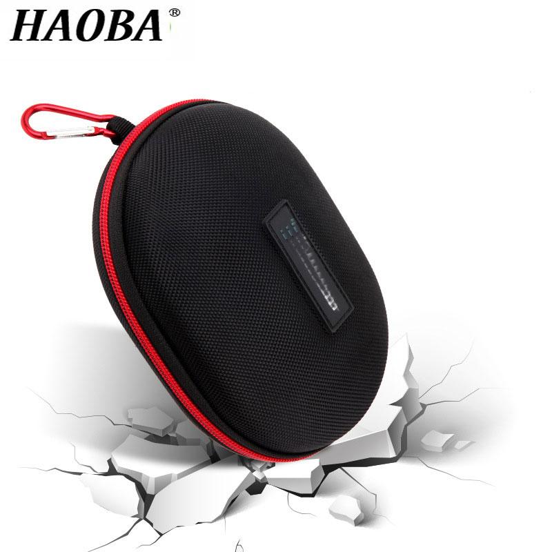 Водонепроницаемый чехол для наушников HAOBA, Жесткий Чехол из ЭВА для студии 2,0, для наушников Solo1 Solo 2 3, сумка для гарнитуры, сумка-коробка для ...