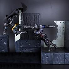 DC Justice ligue Batman Arkham chevalier figurine Super héros Justice ligue PVC enfants jouets 20-25cm