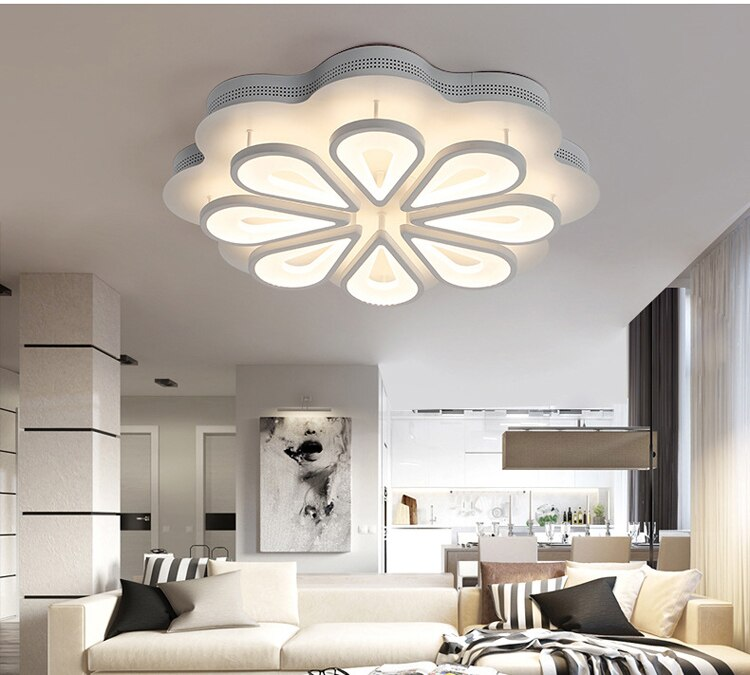Lámpara de techo moderna y minimalista para el hogar, luz con diseño...