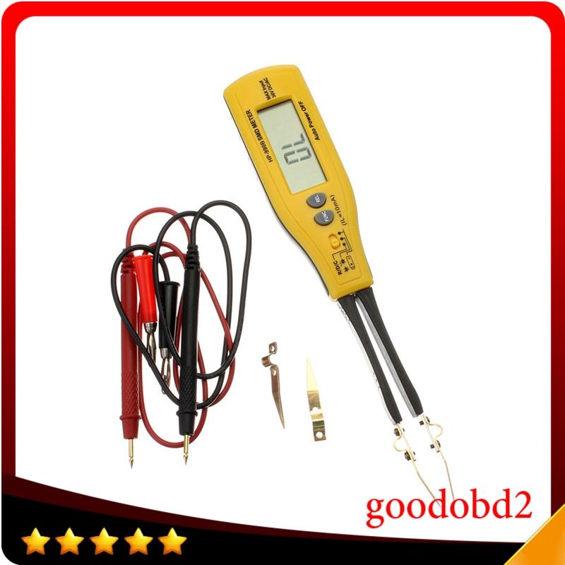 HoldPeak HP-990B автоматический измеритель диапазона SMD резистор конденсатор диод/непрерывность/тестер батареи 4000 отсчетов с относительным режим...