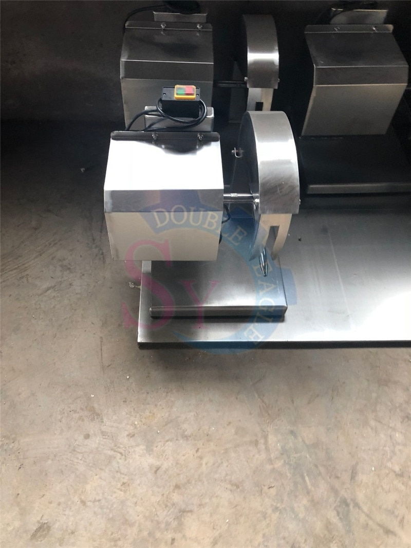 Wholesale Price Stainless Steel Duck chicken bone band saw cutter machine electric poultry meat slicer cutting machine