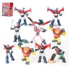 10 stks/set Mazinger Trypticon Universele man Grote Mazinger PVC Action Figure Collectible Model Toy L173 8 CM