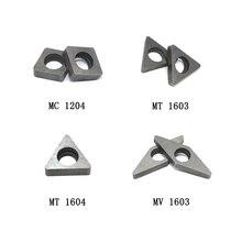 MT1603 MT1604 asiento de cuña de carburo para insertos de giro TNMG1604 accesorios CNC almohadilla para cuchillo para herramienta de torneado CNC