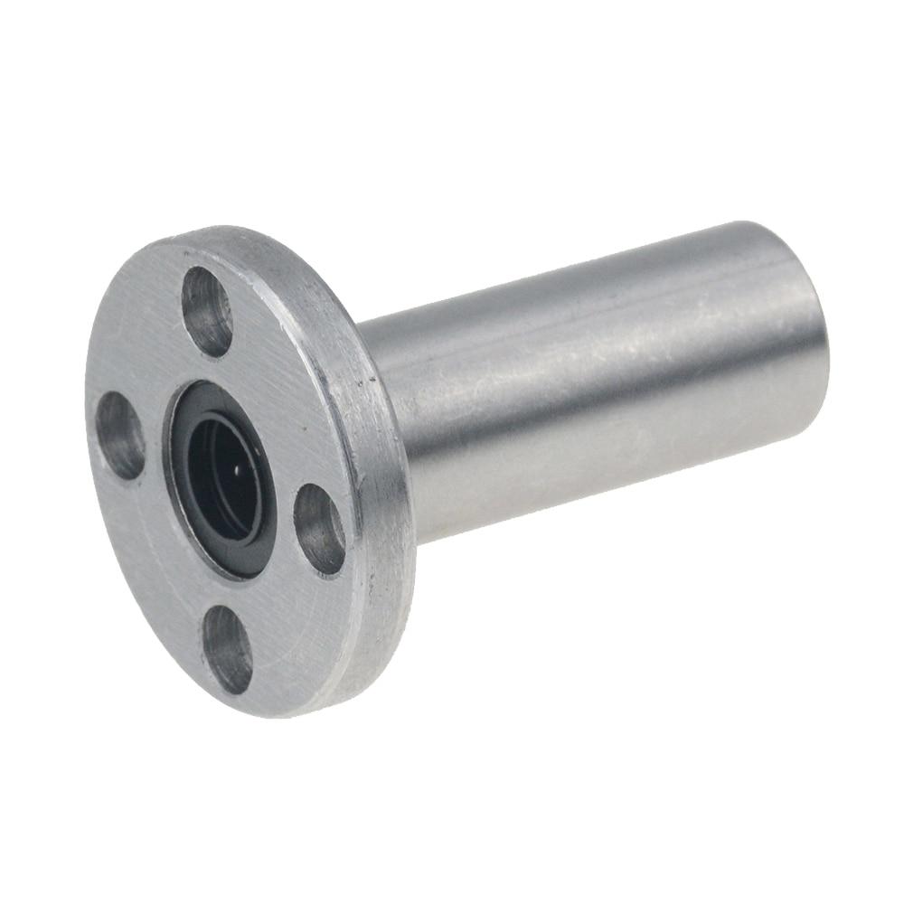 2 unids/lote envío gratis LMF20LUU tipo largo 20mm brida lineal rodamiento CNC casquillo lineal