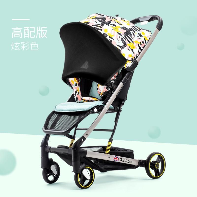 عربة أطفال المملكة المتحدة خفيفة bbz yoya زائد سهلة الطي عربة السفر المحمولة عربة طفل مظلة.