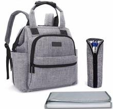Marke Bay Windel Windel Tasche Rucksack Multifuntional Kinderwagen Tasche Für Mama Wasserdichte Handtasche Organizer Mit Ändern Pad