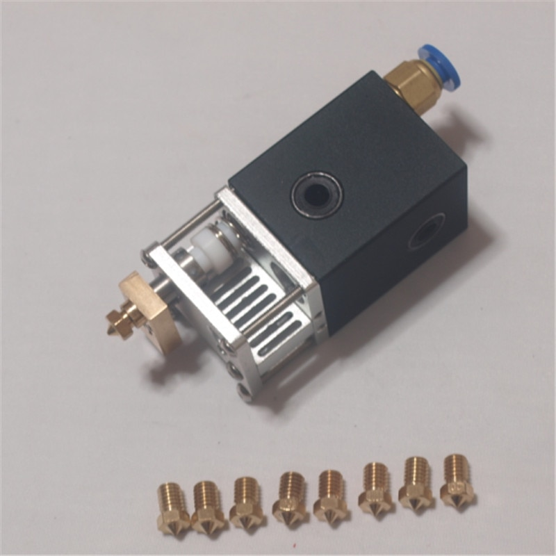 Ultimaker 2 UM2 3D طابعة أجزاء جميع معدن الألمنيوم سبائك الطباعة رئيس الساخن النهاية Olsson كتلة فوهة كيت/مجموعة ل 1.75/3 ملليمتر
