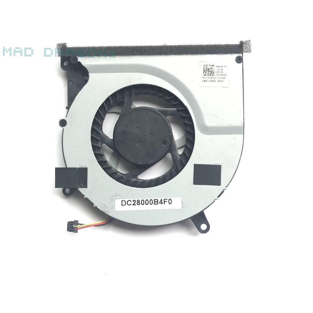 Cooler para Dell Dc28000b4f0 das Ventilador Cpu e Gpu Marca Original Novo Laptop Xps 15 L521x 37xgd Refrigerador Térmico 037xgd Fãs