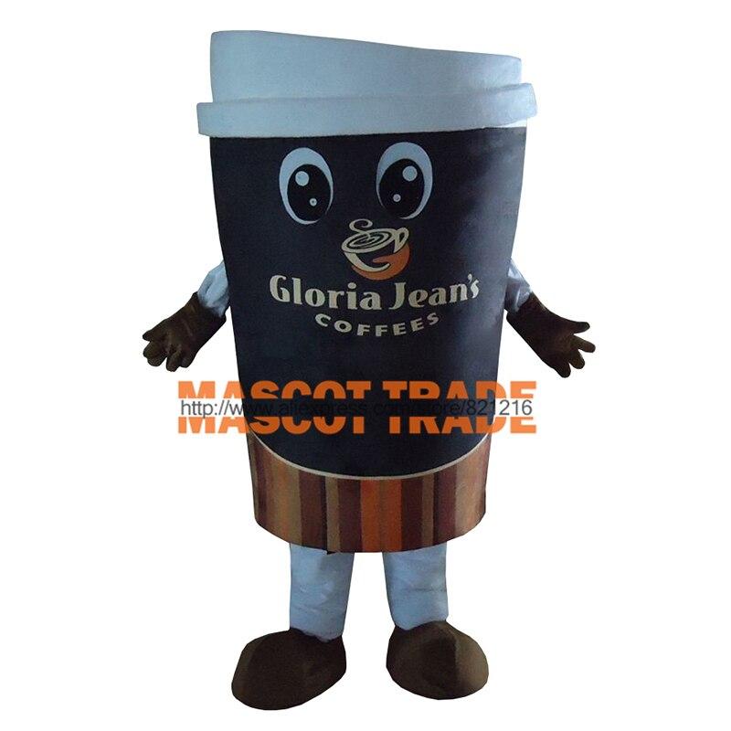 Taza de café de alta calidad, disfraz de Mascota de peluche para adultos, suministros festivos y de fiesta, Disfraces, vestido de fantasía, Cosplay de Anime