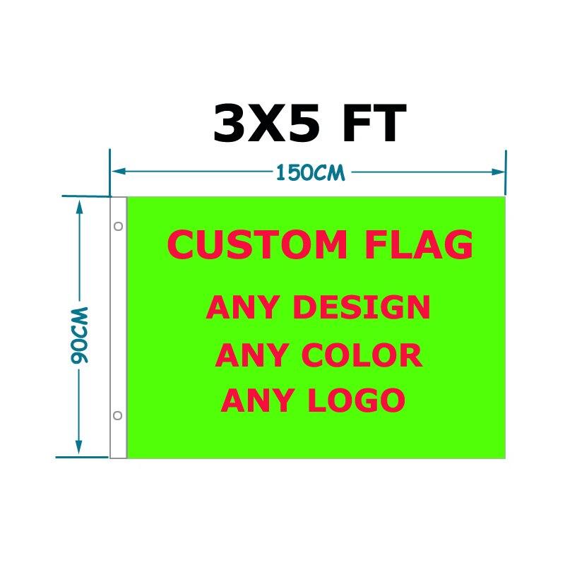 Флаг aerlxemrbrae пользовательский Печатный флаг 90x150 см полиэстер, флаги и баннеры на заказ для спорта, уличный баннер, флаг на заказ