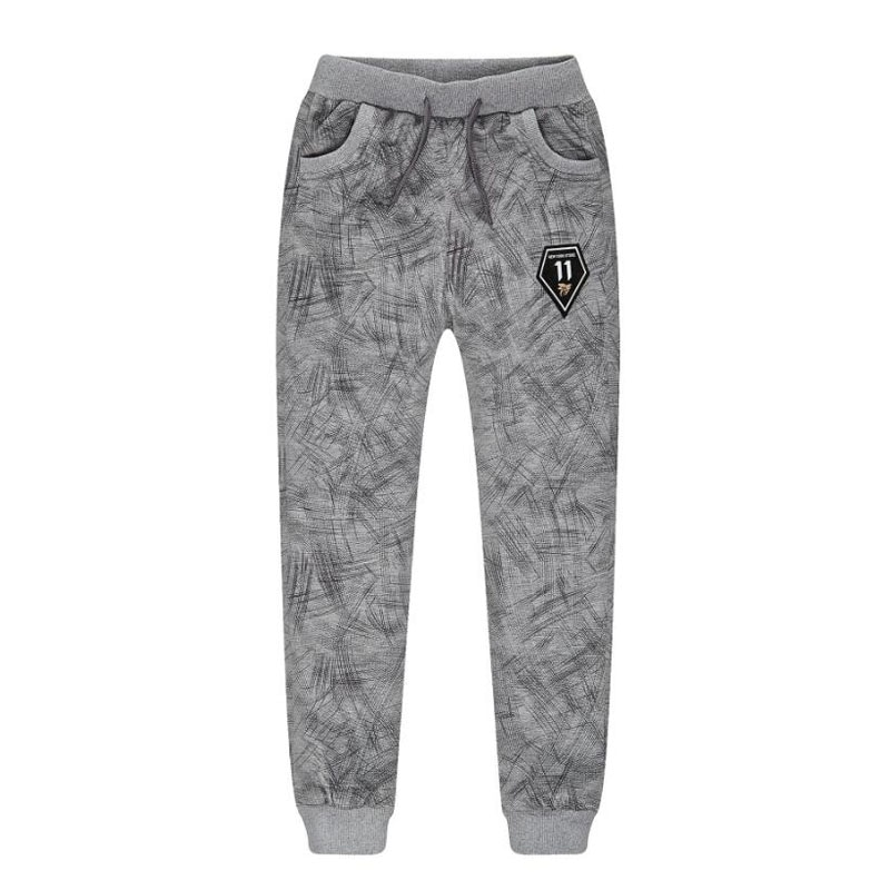 Baby Casual Pants Cotton Boys Long Trousers Kids Thick Clothing Elastic Waist Jogger Pant 2020 Winter Warm Boys Sport Pants