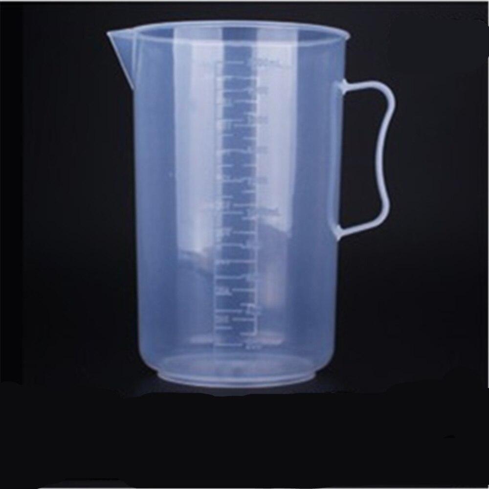 2000 мл пластиковый стакан со шкалой пластиковый мерный стакан пластиковый стакан с ручкой