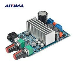 Aiyima tpa3116 tpa3116 amplificador de áudio, placa tpa3116d2, amplificadores de áudio baixo 100 w, saída DC12-24V