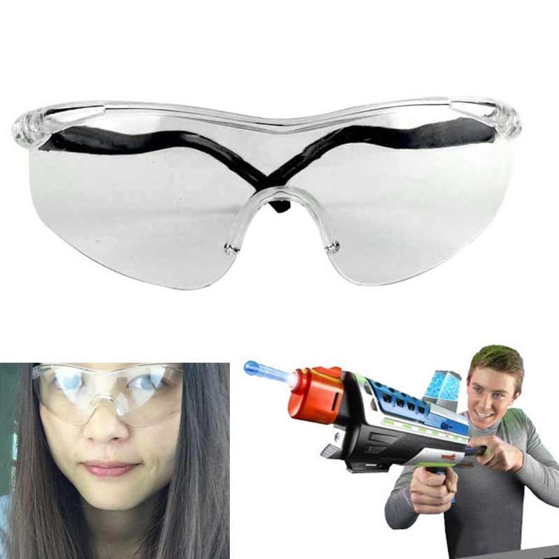 ¡Producto en oferta! Accesorios para gafas, gafas de cristal protector, juguete para exteriores sin Goggless, juguete clásico de niños, regalos-17