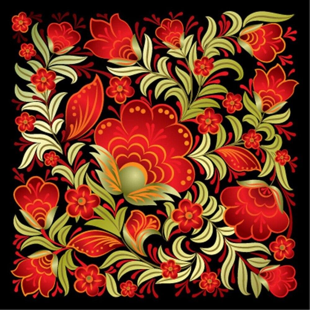 LaoJieYuan, DIY, pintura de diamante, flores, bordado de diamante cuadrado completo