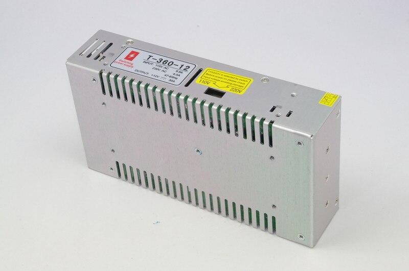 AAA FUN COOL 360W 12V 30A tres salidas de conmutación led adaptador de fuente de alimentación para led 100V 220V CE y ROHS aprobado