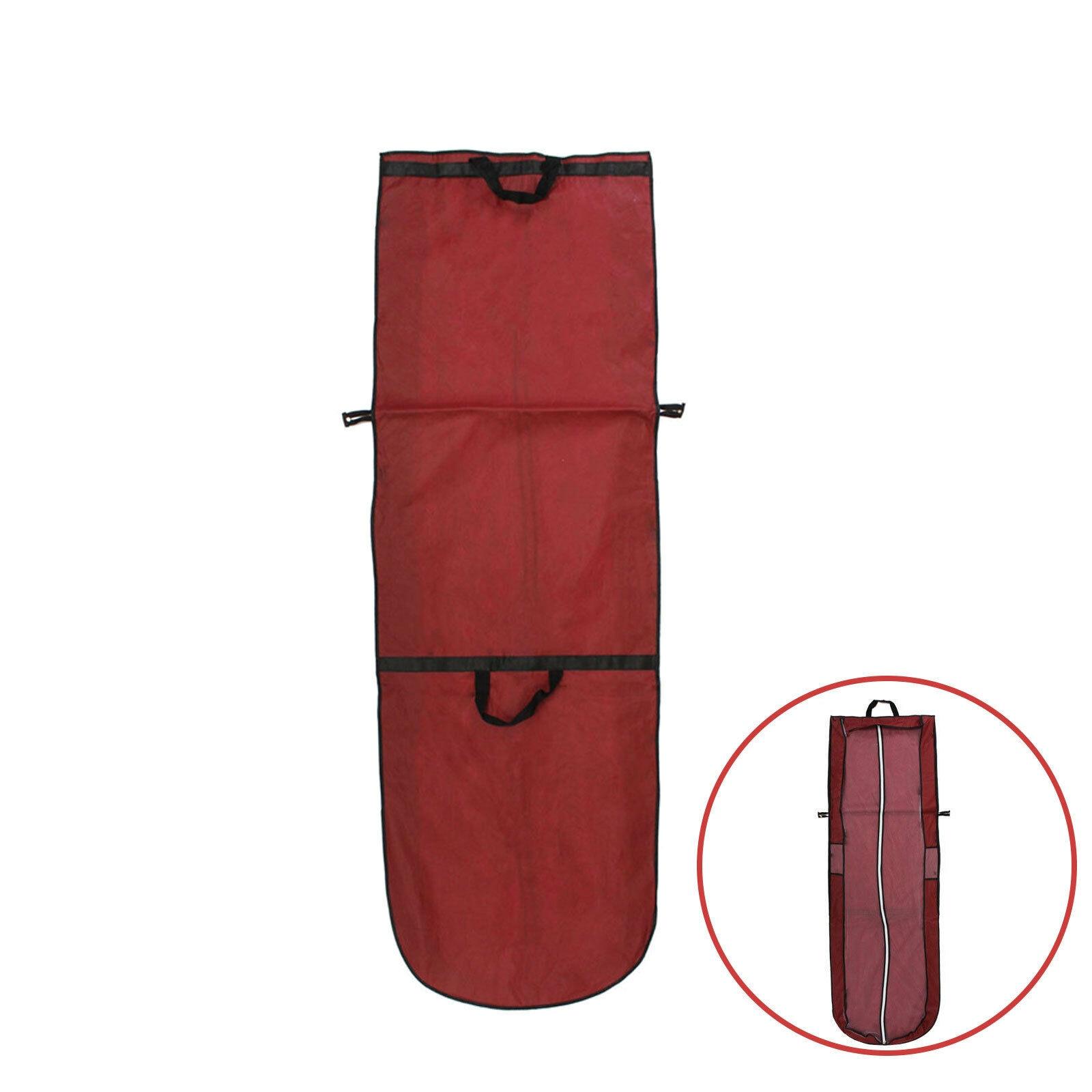 Vestido de novia bolsa de protección plegable polvo vestido rojo resistente al almacenamiento funda antipolvo para ropa bolsa cubierta a prueba de polvo bolsa de ropa