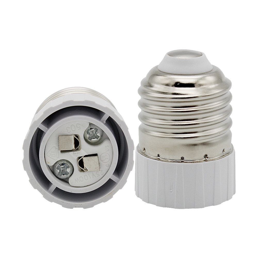 Adaptador E27 a MR16 G4 para lámpara de enchufe Convertidor para bombilla de luz LED CFL halógena de prueba