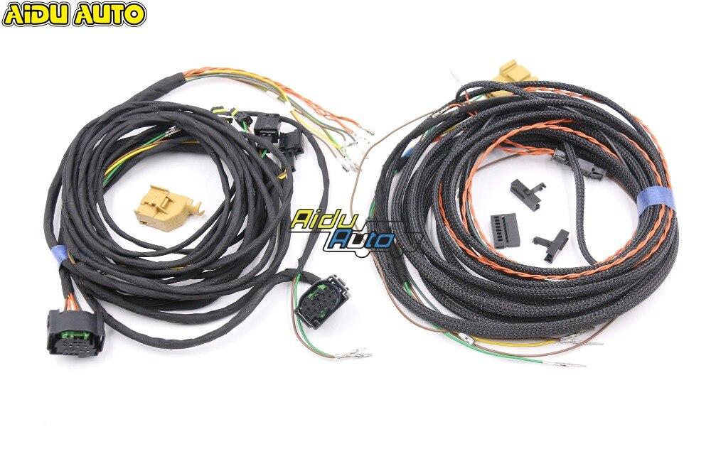 Arnés de Cable auxiliar AIDUAUTO para cambio de carril, para VW Passat B8 Tiguan MK2