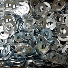 Coussin plat galvanisé de haute qualité   5 pièces, bas prix, tampon plat/lave-vaisselle/lave-linge M14/16/18/20 .. M36 GB97